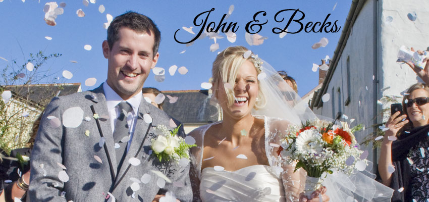 John & Becks wedding in North Devon - Stuart Gaunt Photography