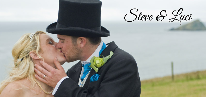 Steve & Luci wedding phptpgraphy near Plymouth - Wedding Photographer Devon
